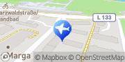 Karte VIP FAHRDIENST OKAY-TAXI-AIRPORT LIMOUSINEN SERVICE Freiburg, Deutschland