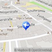 Karte Reisebüro L'tur Last Minute Offenburg, Deutschland