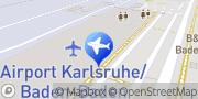 Karte l'tur Reise-Shop Baden-Airport Rheinmünster, Deutschland