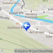 Karte Pleuler Reisen Hornberg, Deutschland