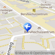 Karte Pizza-Man Pizza-Taxi Mainz, Deutschland
