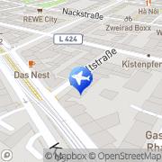 Karte Daut, GüntherTaxi Mainz, Deutschland