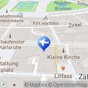 Karte Liardo, Salvatore Reisebüro Karlsruhe, Deutschland