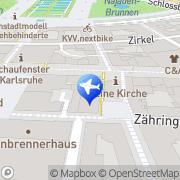 Karte Salvatore Liardo Karlsruhe, Deutschland