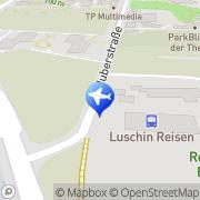 Karte Luschin Reisen Bad Dürrheim, Deutschland