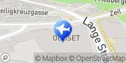 Karte Sixt Autovermietung Frankfurt am Main, Deutschland