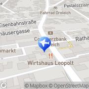 Karte First Reisebüro Dreieich, Deutschland