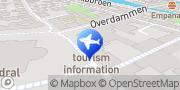 Kort Ribe Turistbureau Ribe, Danmark