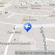 Karte DER Deutsches Reisebüro Konstanz, Deutschland