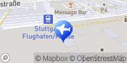 Karte InterRent Flughafen Stuttgart Stuttgart, Deutschland