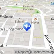 Karte Anita Moll Kirchheimer-Reiseservice.de Kirchheim, Deutschland