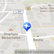 Karte Reisecenter Meckenbeuren, Deutschland