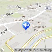 Karte Haus Bergland Brand, Österreich
