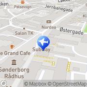 Kort Ferieregion Sønderborg Turistbureau Sønderby, Danmark