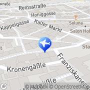 Karte Tui ReiseCenter Reisebüro Schwäbisch Gmünd, Deutschland