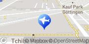 Karte ADAC Geschäftsstelle & Reisebüro Göttingen Göttingen, Deutschland