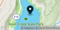 Quail Creek Reservoir Map