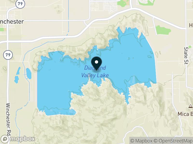 Diamond Valley Lake Map