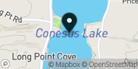Conesus Lake Map