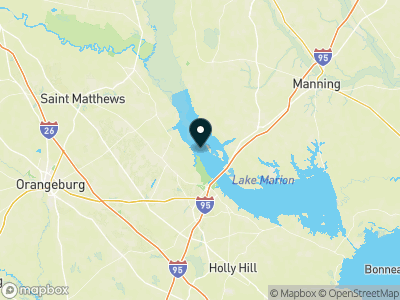Lake Marion (SC) Map