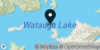Watauga Lake Map