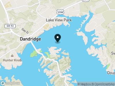 Douglas Lake (TN) Map