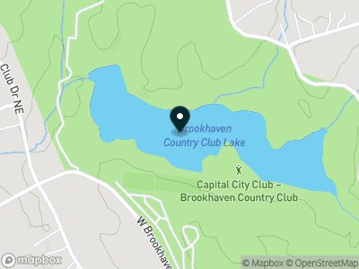 Brookhaven Country Club Lake Map