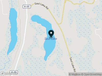 Saul Lake Map