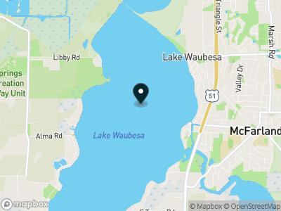 Lake Waubesa Map