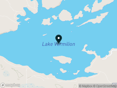 Lake Vermilion Map