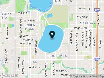 Lake Harriet Map