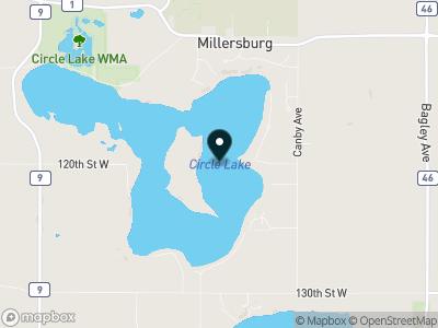 Circle Lake Map