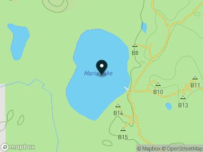 Maria Lake Map