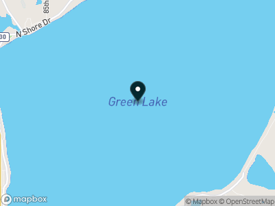 Green Lake (MN) Map