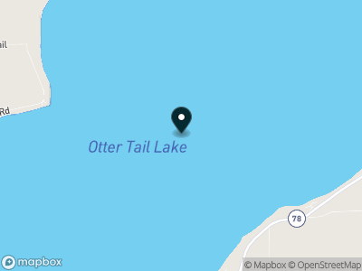 Otter Tail Lake Map