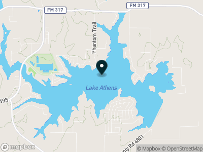 Lake Athens Map