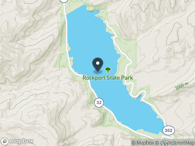 Rockport Lake Map
