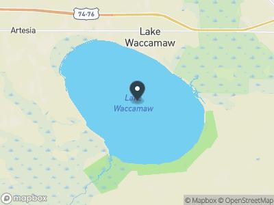Lake Waccamaw Map