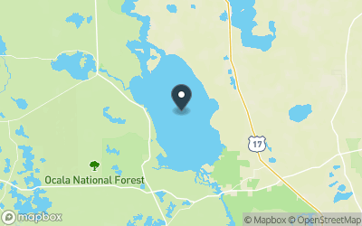 Lake George (FL) Map