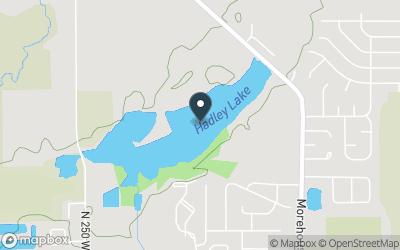 Hadley Lake (IN) Map