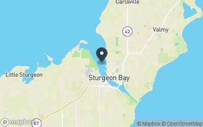 Sturgeon Bay Map