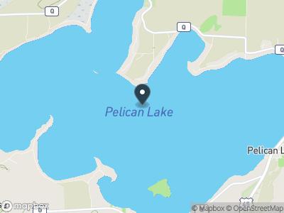 Pelican Lake (WI) Map