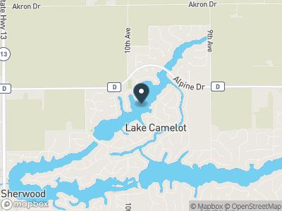 Lake Camelot Map