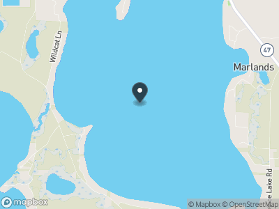 Fence Lake (WI) Map