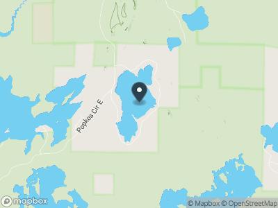 Wilson Lake Map