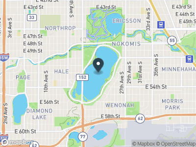 Lake Nokomis Map