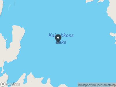 Kaiashkons Lake Map