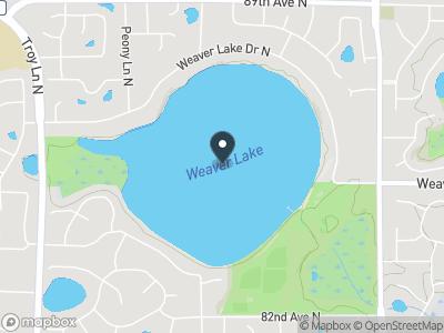 Weaver Lake Map