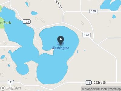 Lake Washington (MN) Map