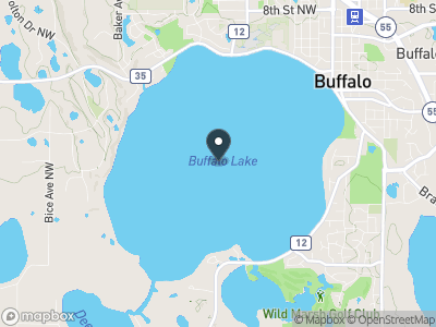 Buffalo Lake Map